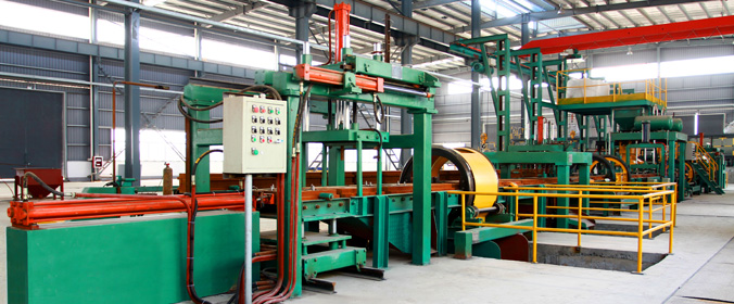 XN-TF-9011 Type Sand Lined Iron Mold Casting Line(Horizontal Parting)