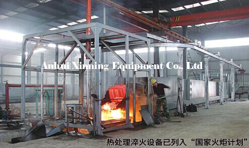 Automatic Pusher Oil Quenching Production Line
