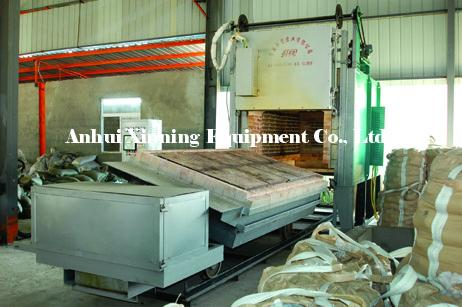 Overturning Full-fiber Bogie-hearth Resistance Furnace